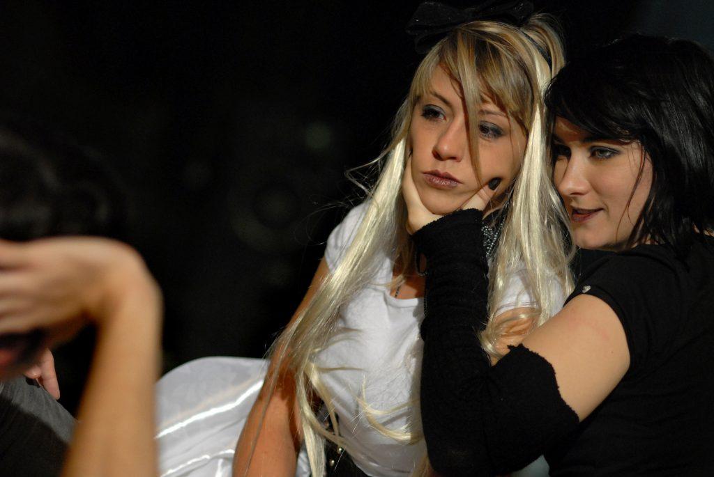 "Branislava Podrumac as Elisabeth in dance opera ""Les Enfants Terribles"" by Philip Glass"