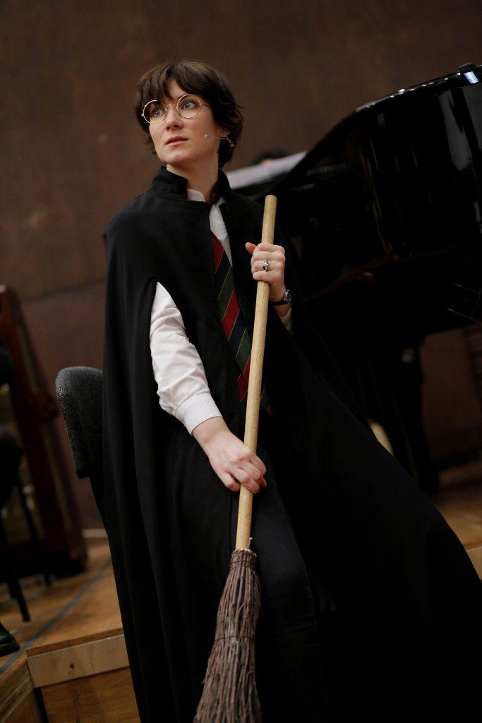 Branislava Podrumac Harry Potter in The Harry Potter Suite with the Belgrade Philharmonic Orchestra