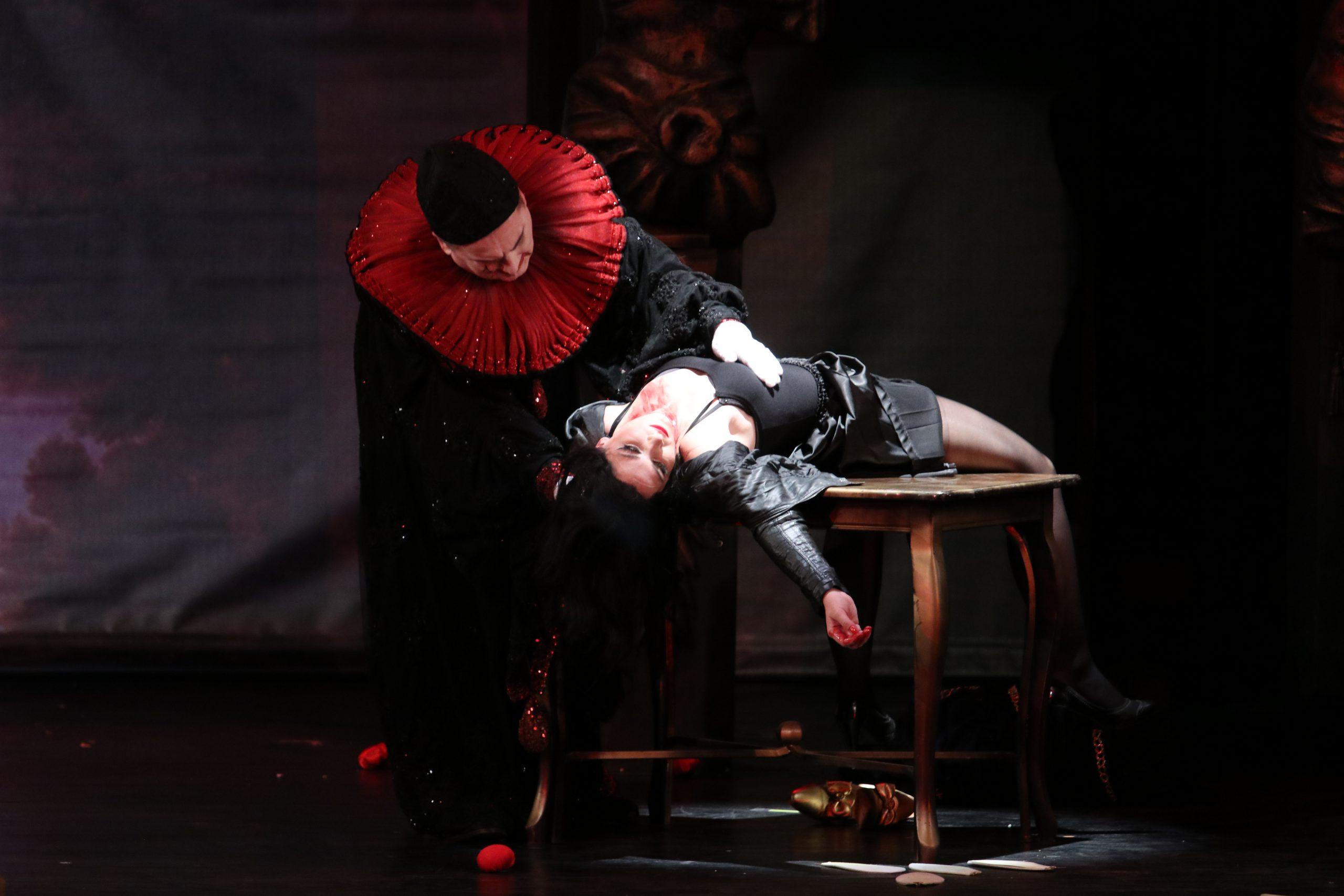 Branislava Podrumac as Nedda in the opera Pagliacci